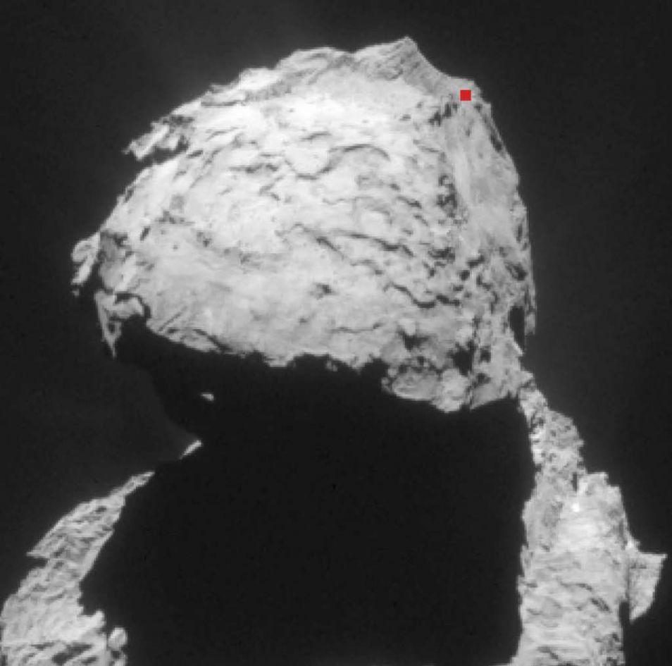 Komeet 67P. We zoomen in...