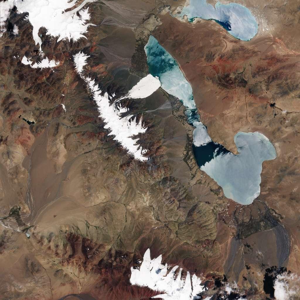 De situatie in juli. Afbeelding: Earth Observatory NASA.