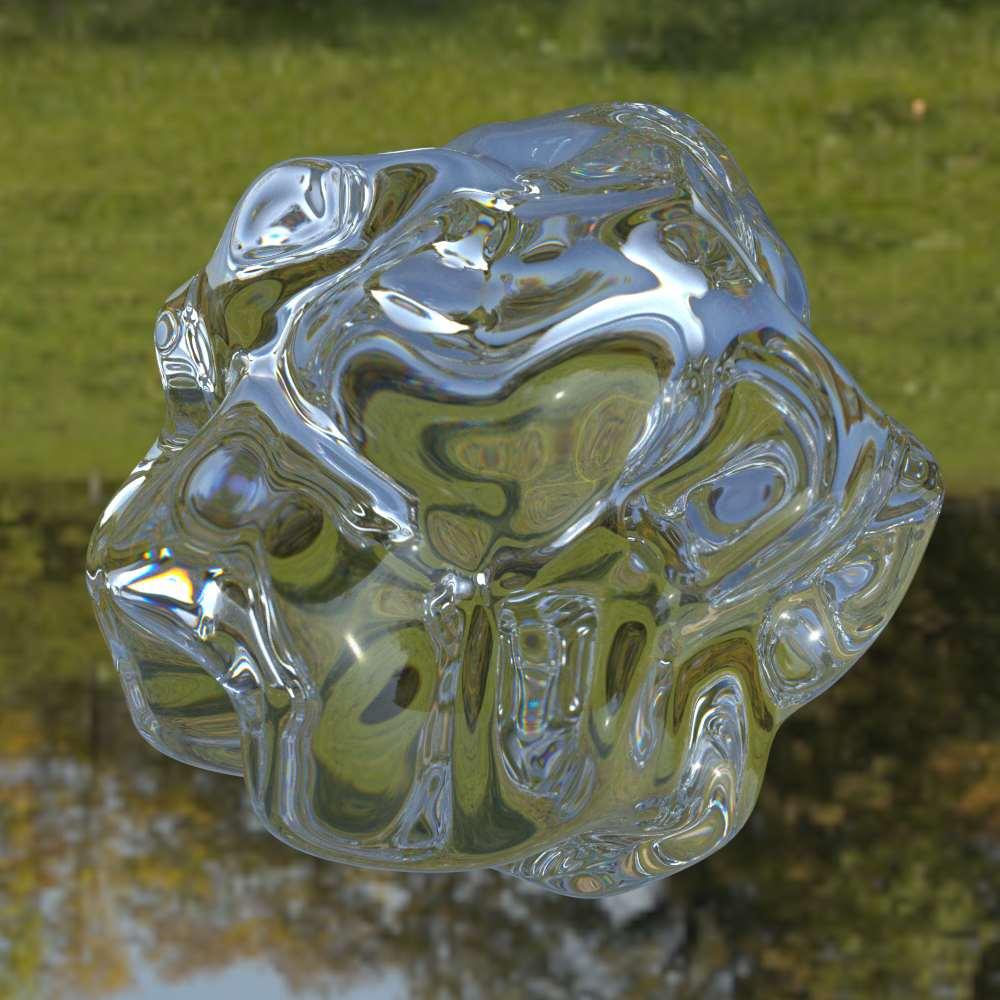 Draai de afbeelding om en het object lijkt gemaakt te zijn van een heel ander materiaal. Afbeelding: Juno Kim.