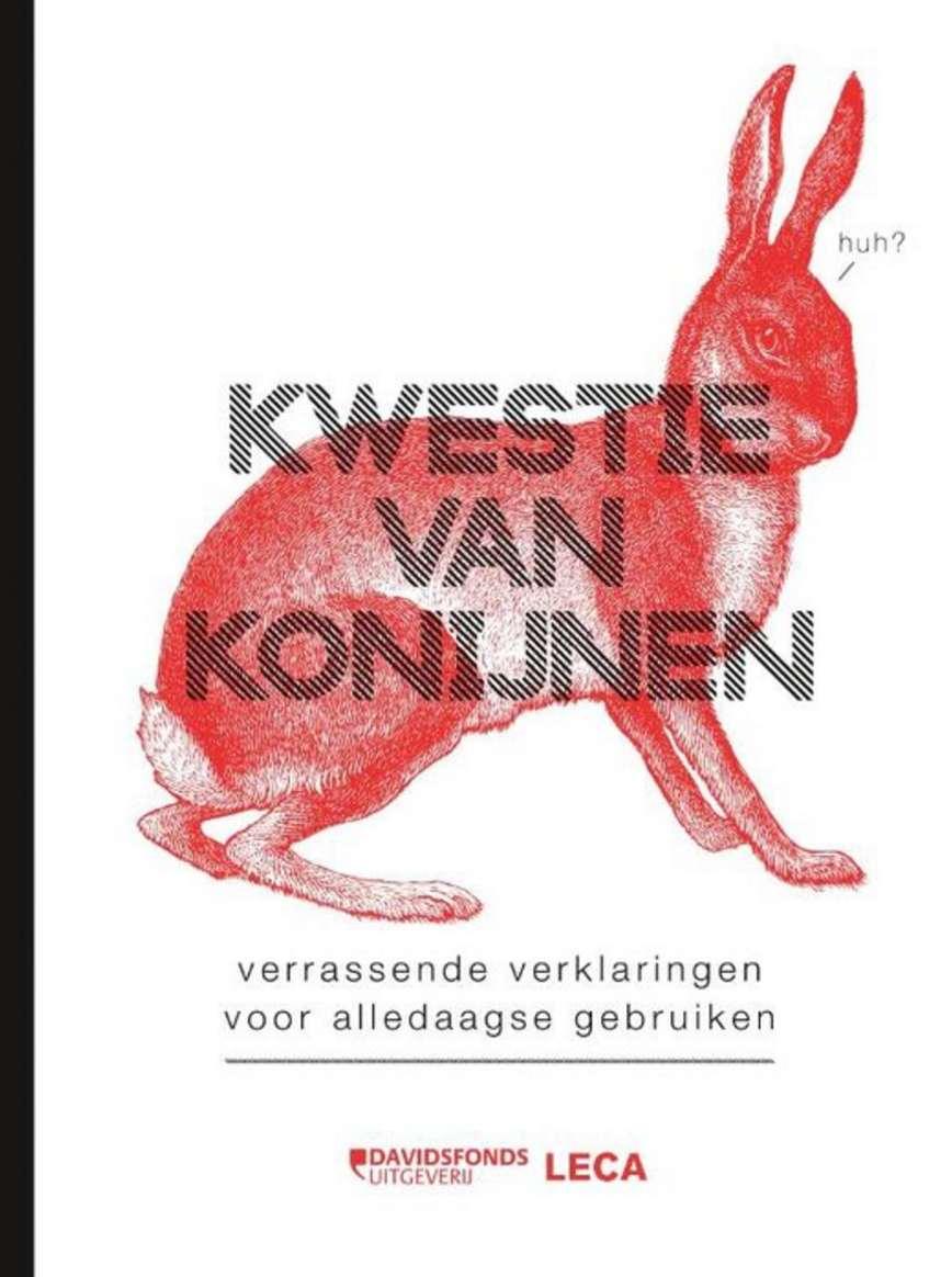 kwestie van konijnen - cover
