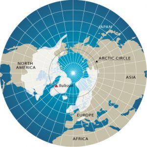 Zo ver reikte het ijs tijdens de laatste ijstijd.
