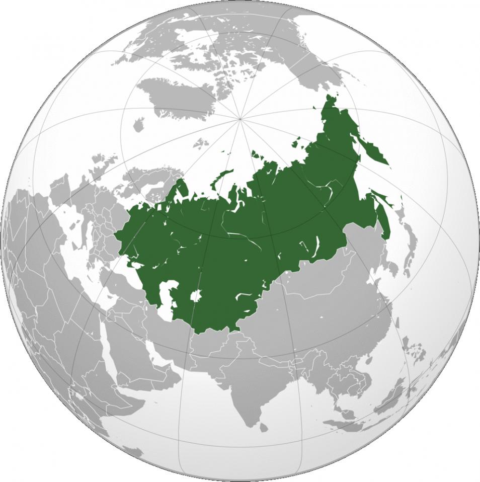 Veel van de sporters die betrapt zijn op het gebruik van meldonium komen uit de voormalige Sovjet-Unie. Afbeelding: Russian Federation / Mnmazur (via Wikimedia Commons.