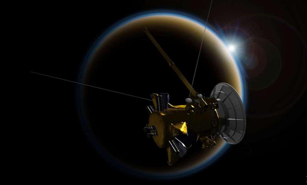 Dit zijn de allerlaatste foto's van Cassini [update]
