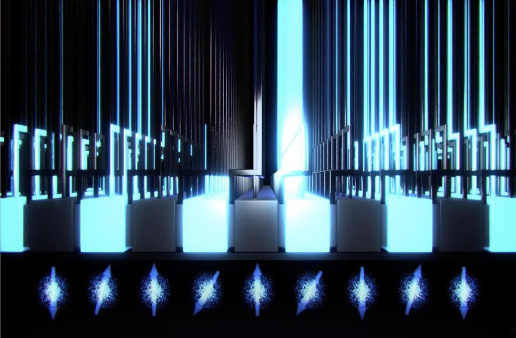 Onderzoekers ontwerpen de eerste kwantumcomputerchip