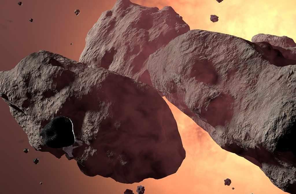 Russen zoeken uit wat een kernbom met een planetoïde doet