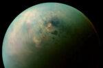 Meren op Saturnus' maan Titan mogelijk gevuld met vreemde, onaardse mineralen