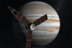 Dit gebeurt er onder het prachtige wolkendek van turbulent Jupiter