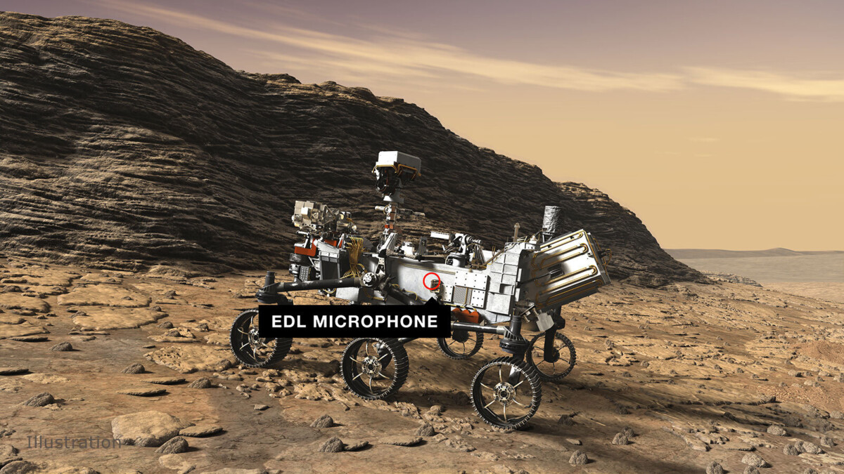 What do you hear on Mars?  Marsrover Perseverance is going to find out!
