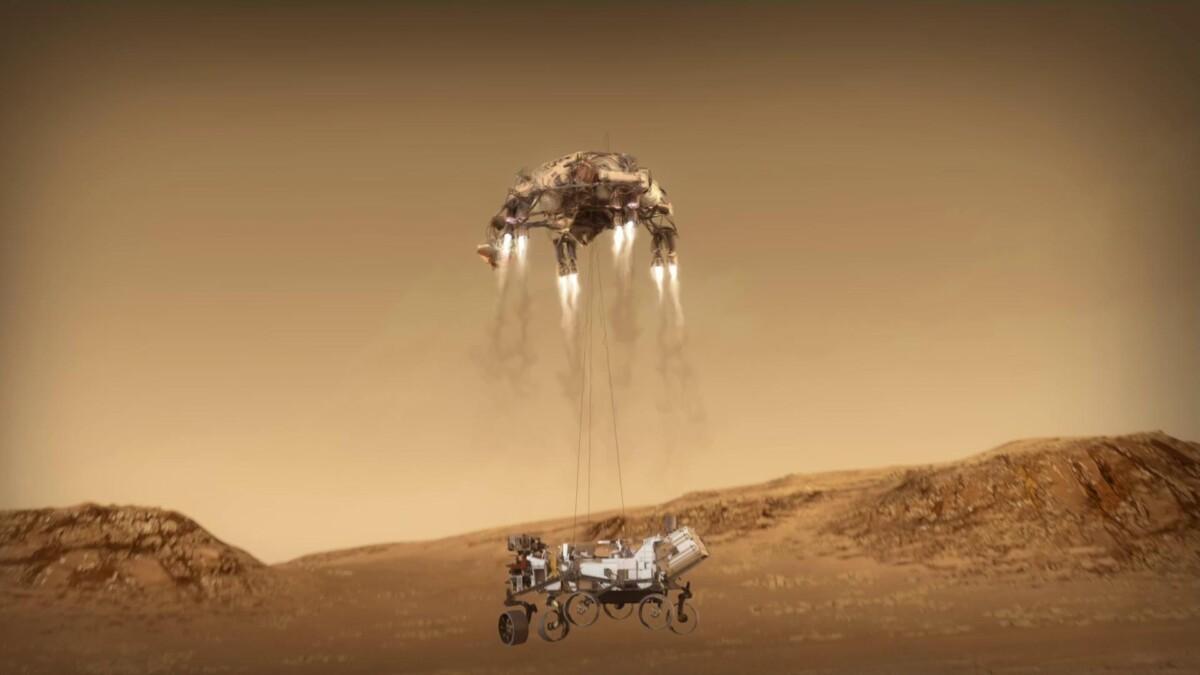 NASA maakt zich op voor 'zeven verschrikkelijke minuten' boven Mars - Scientias.nl