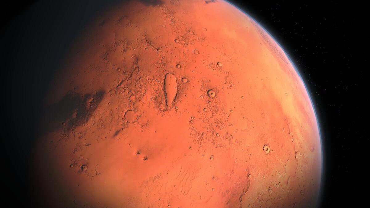 Sommige aardse microben kunnen tijdelijk overleven op Mars - Scientias.nl