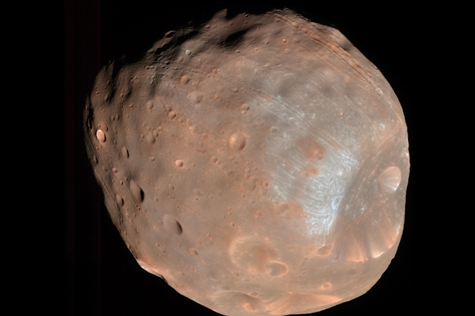 Deel van Mars' atmosfeer is mogelijk op maantje Phobos geland - Scientias.nl