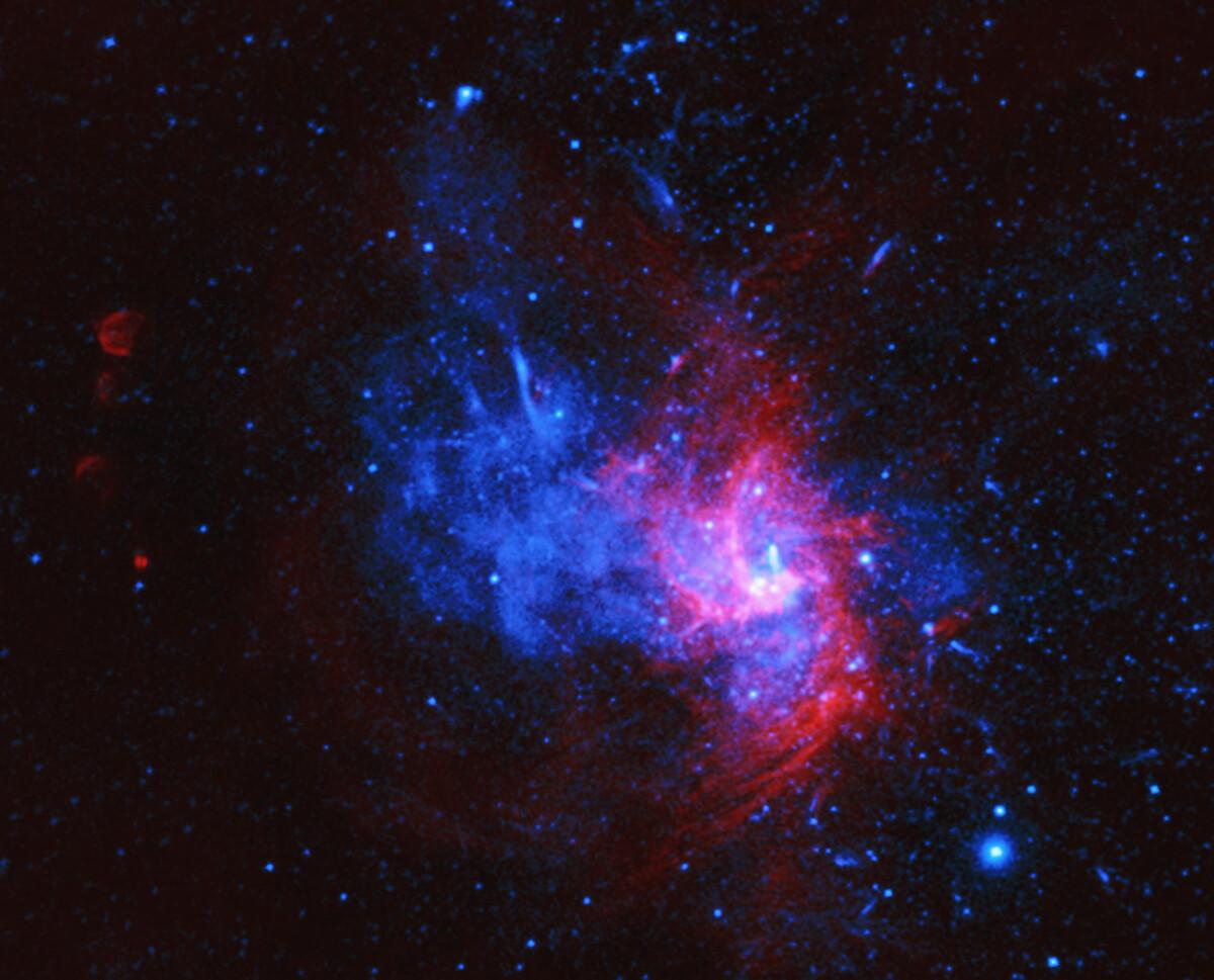 Mogelijk voor het eerst een Type Iax supernova ontdekt in onze Melkweg - Scientias.nl
