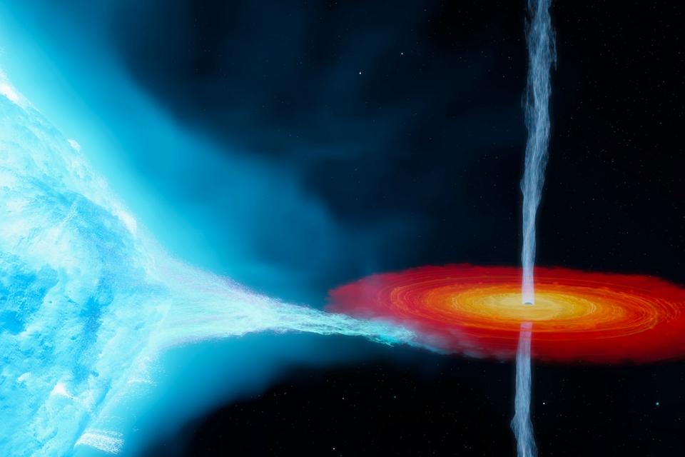 Het allereerste zwarte gat dat wetenschappers ontdekten, blijkt veel zwaarder dan gedacht - Scientias.nl