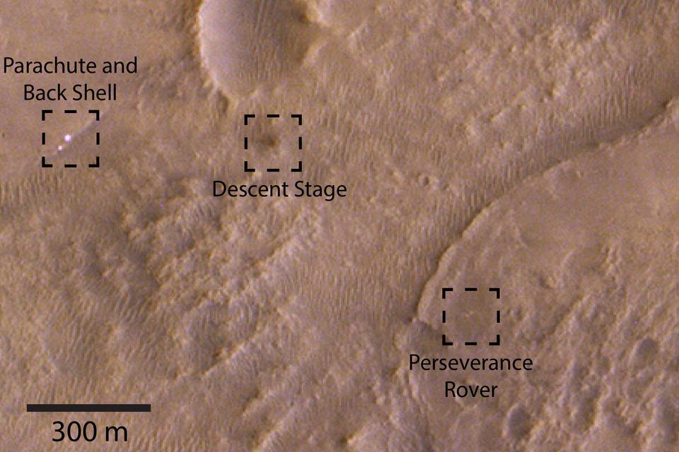 Rover Perseverance maakt er een zooitje van op Mars - Scientias.nl