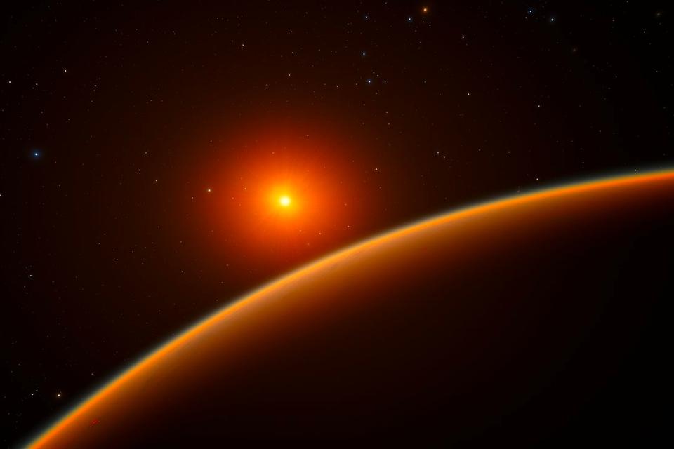Opnieuw een exoplaneet ontdekt op relatief kleine afstand van de aarde - Scientias.nl