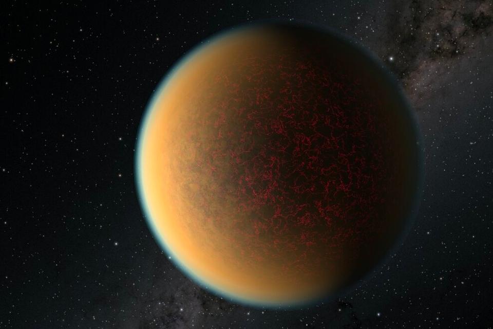 Deze exoplaneet raakte zijn atmosfeer kwijt - maar kreeg er een nieuwe voor terug - Scientias.nl