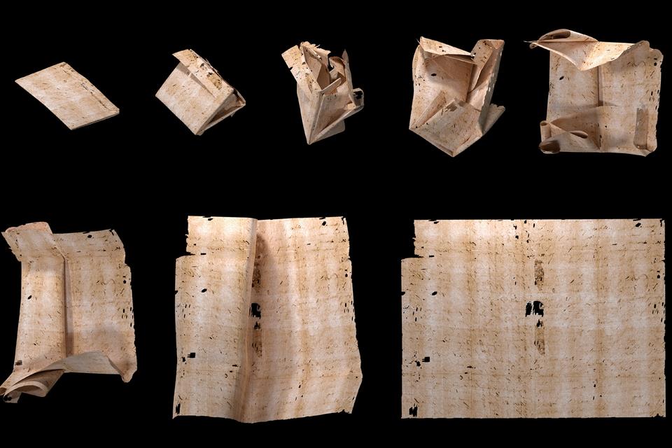 Wetenschappers lezen ongeopende brief uit de Renaissance - Scientias.nl