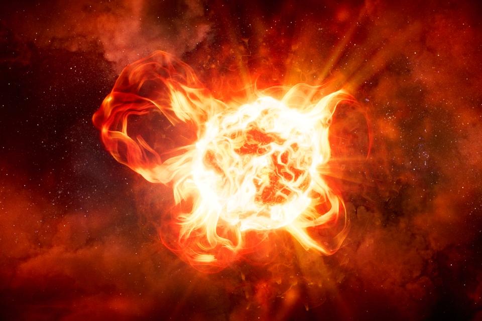 Monsterachtige ster VY Canis Majoris doet 'een Betelgeusje' - Scientias.nl